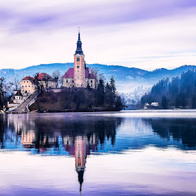 Bled by Milan Mihalič - City,  Street & Park  Historic Districts (  )