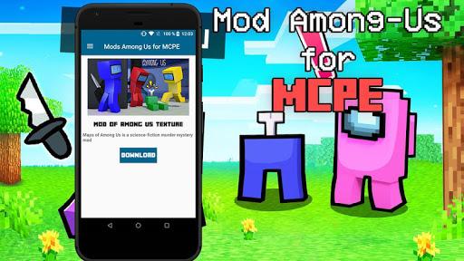 Mod of Among Us for Minecraft PE screenshot 2