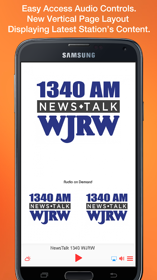 NewsTalk 1340 WJRW- screenshot