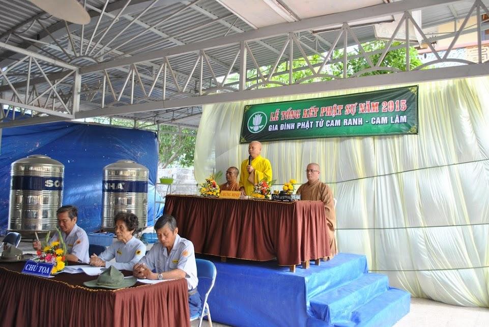 Lễ tổng kết Phật sự năm 2015