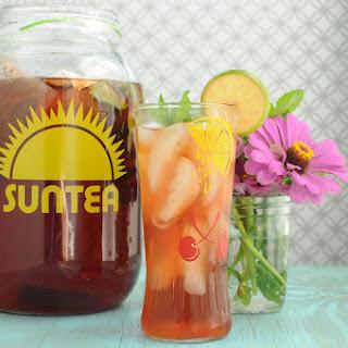 Raspberry Lime Sun Tea Recipe