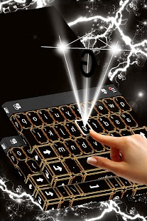 Art Deco Keyboard Theme - náhled