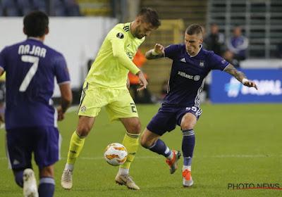 Ognjen Vranjes trainde gisteren opnieuw mee met de A-kern van Anderlecht