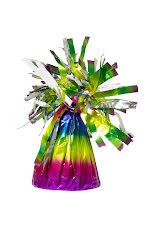 Regnbågsfärgad ballongvikt