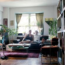 Photo: title:Juli & Kanishka Raja, New York City, New York date: 2010 relationship: friends, art, met at Hampshire College years known: Kanishka, 20-25: Juli, 10-15