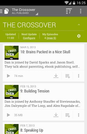 BeyondPod Podcast Manager screenshot 7