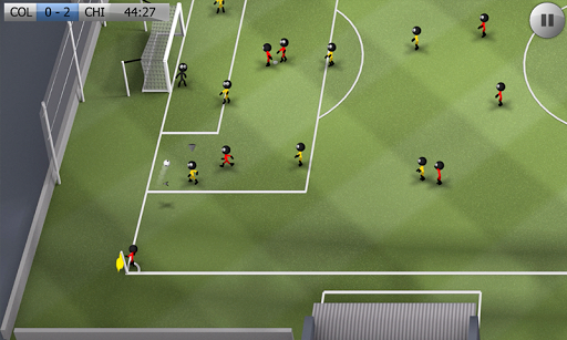 Stickman Soccer - Classic screenshot 1