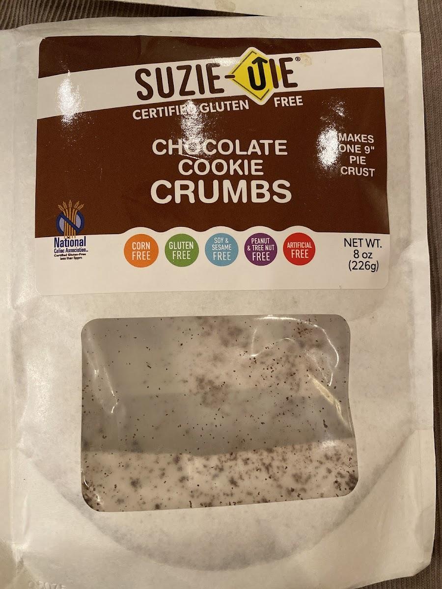 Chocolate Cookie Crumbs