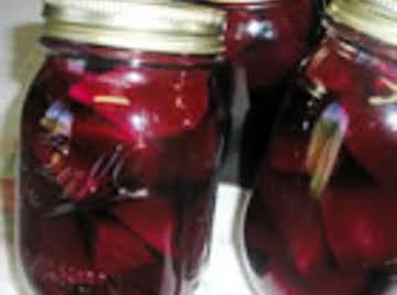 Fast & Easy Pickled Beets