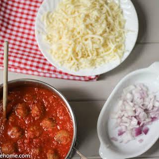 Italian Meatball Subs.