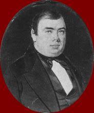 Photo: Ook op jongere leeftijd was Berend Haitzema Viëtor (1817-1877) al van het corpulente type!