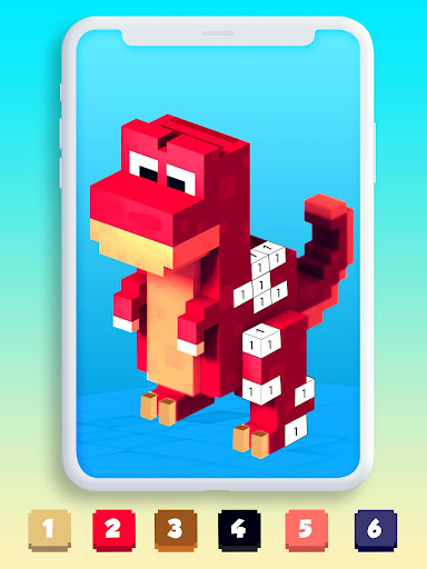 Color By Number Pixel Art 3D 1.0 screenshots 5