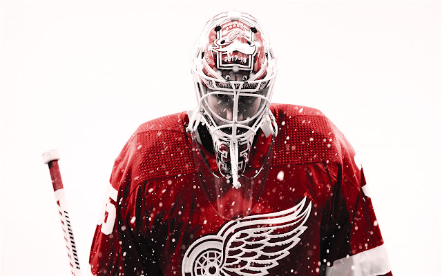 Detroit Red Wings Themes & New Tab
