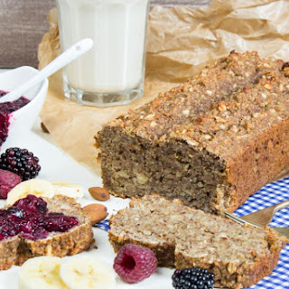 Vegan Banana-Quinoa Bread with Chia Jam