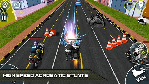 Bike Attack Race 2 - Shooting apk screenshot 5