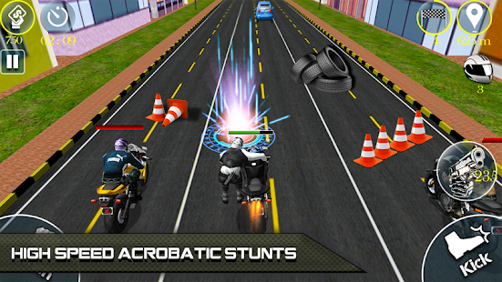 Bike Attack Race 2 - Shooting apk screenshot 5