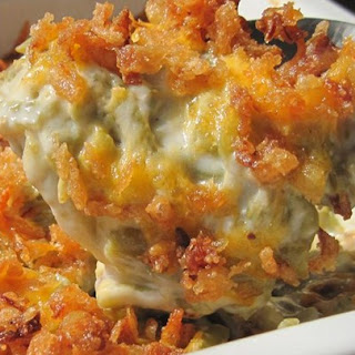 White Cheddar Cheese Green Bean Casserole Recipes
