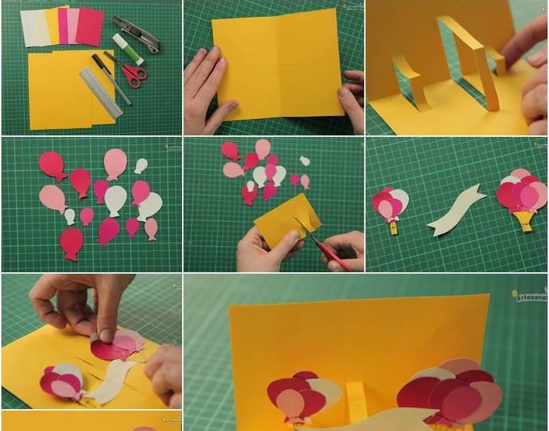 Cara Membuat Kartu Ucapan Natal Dari Kertas Bufalo - membuat kartu ucapan