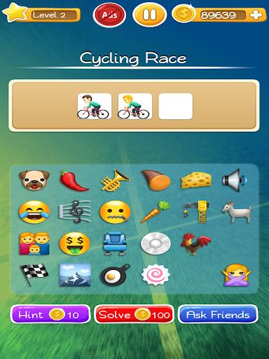 Words to Emojis u2013 Best Emoji Guessing Quiz Game  gameplay | by HackJr.Pw 11