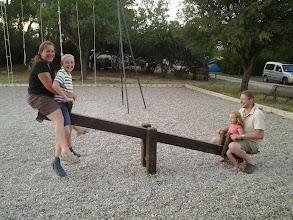 Photo: aire de jeux du camping