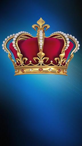 王冠ステッカーフォトモンタージュ
