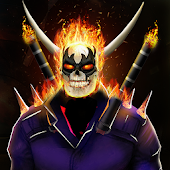 Grand Fire Skull Superhero - Ultimate Warrior Game