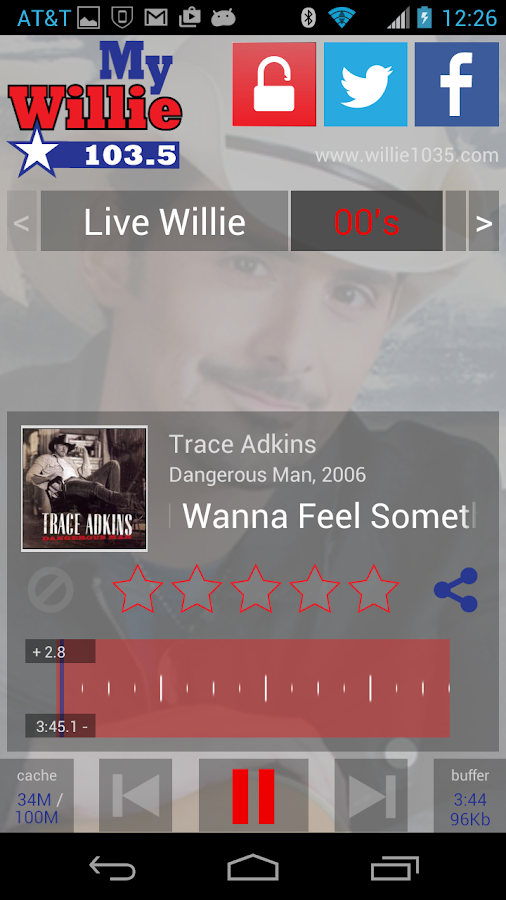 myWillie 103.5- screenshot