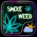 Smoke Weed GO Weather Widget icon