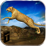 Angry Cheetah Simulator 3D Icon