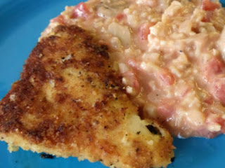 Parmesan-crusted Chicken With Creamy Risotto Recipe