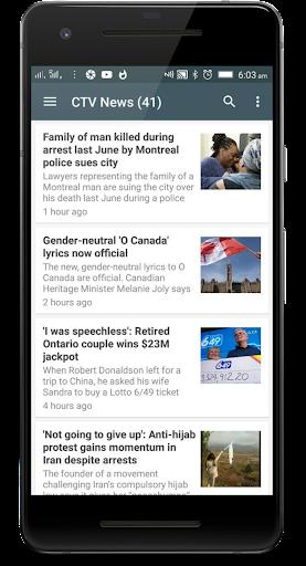 Canada News: the Global News app 1.0 screenshots 3