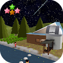Room Escape Game: The starry night and fireflies icon