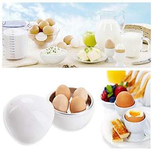 Dispozitiv pentru fiert oua la cuptorul cu microunde