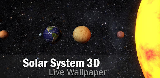 Solar System 3D Free Live Wallpaper - Apps on Google Play