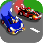 Super Sonic Car Racing Game