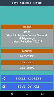 Live Mobile Address Finder - náhled