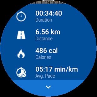 Runtastic Running App & Run Tracker Screenshot