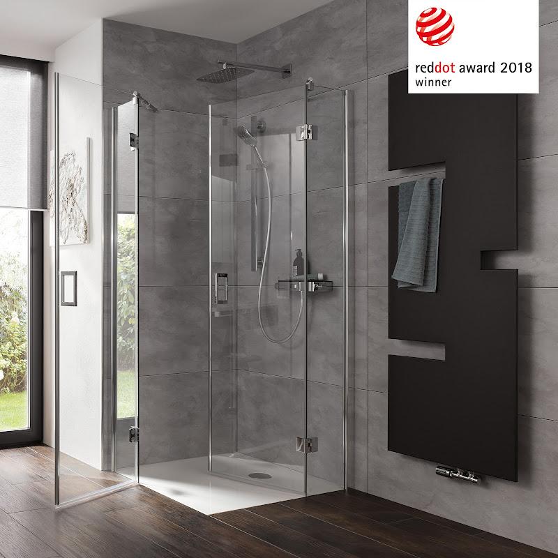 Durchdachtes Design gewinnt auch in der Dusche