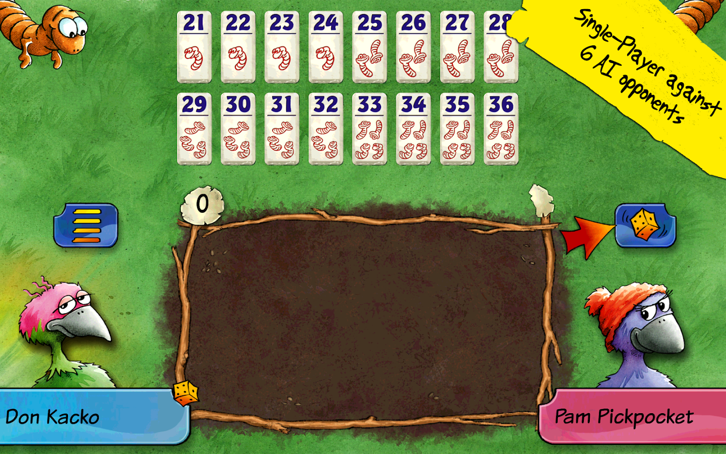 Pickomino by Reiner Knizia- screenshot