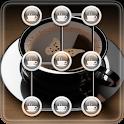 Coffee Pattern Screen Lock icon
