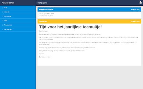 Dyflexis Planning screenshot 4