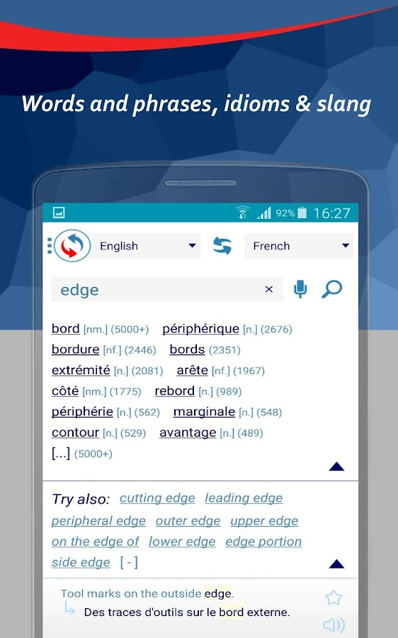 Reverso Translation Dictionary- screenshot