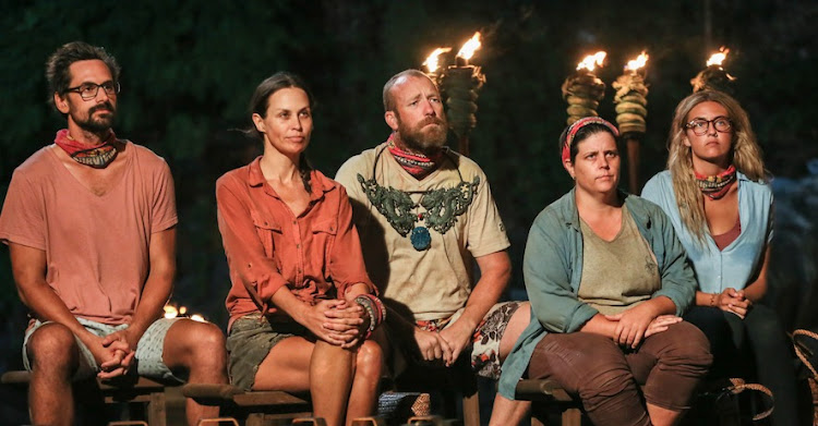 The final five on Survivor SA.