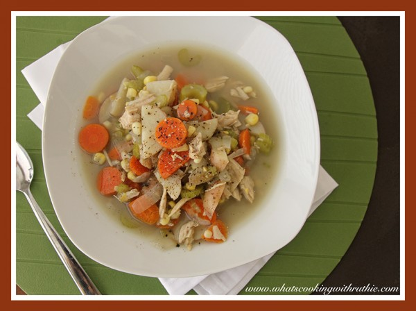 Leftover Turkey Soup...