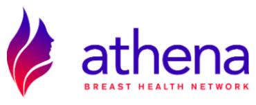 Athena Breast Health Network logo