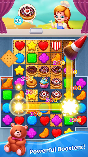 Sweet match 3 puzzle game : Candy holic - screenshot