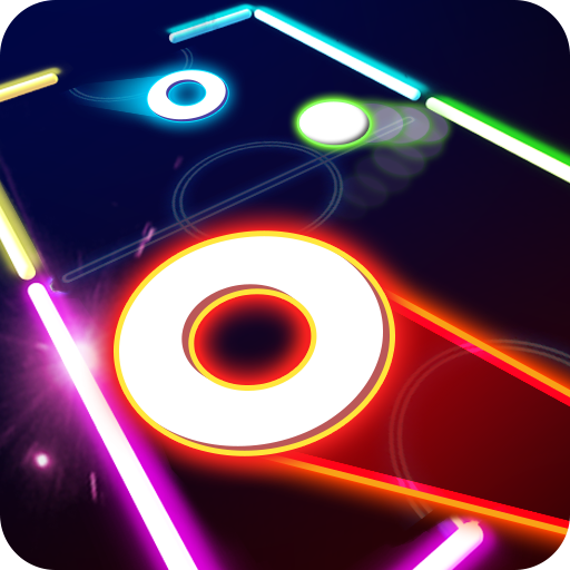 Laser Hockey 3D Icon
