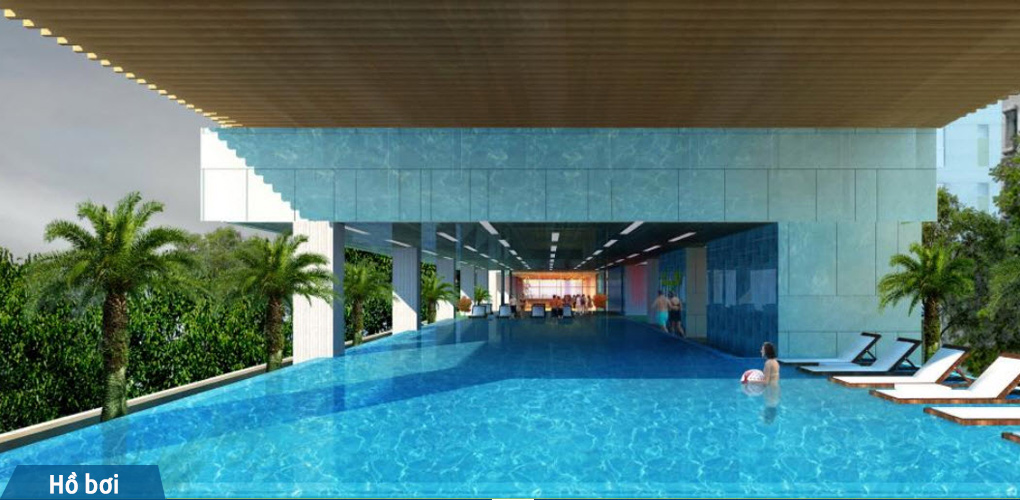 hồ bơi căn hộ kingston