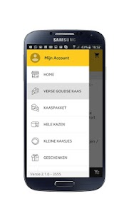 Goudse Kaas Shop - Kaas App- screenshot thumbnail