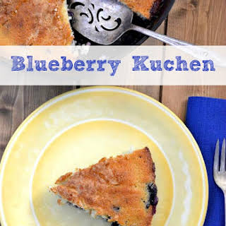 Blueberry Kuchen.